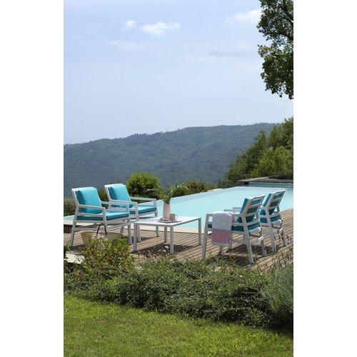 Nardi Lounge Tuinstoel - Aria - Bianco - Sardinia - Turquoise - Nardi