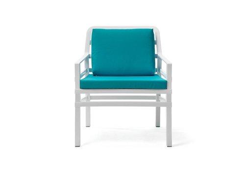 Lounge Tuinstoel - Aria - Bianco - Sardinia - Turquoise - Nardi