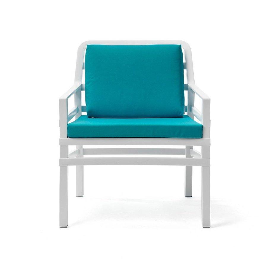 Lounge Tuinstoel - Aria - Bianco - Sardinia - Turquoise - Nardi-2
