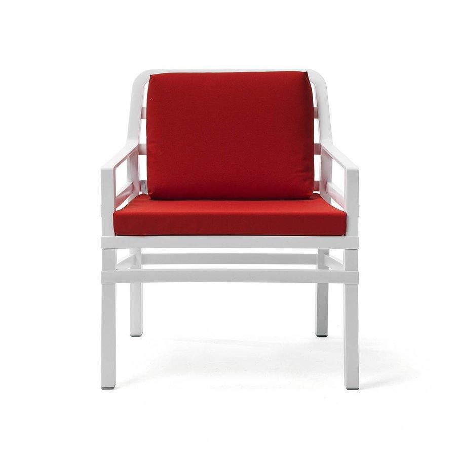Lounge Tuinstoel - Aria - Bianco - Cherry - Rood - Nardi-2