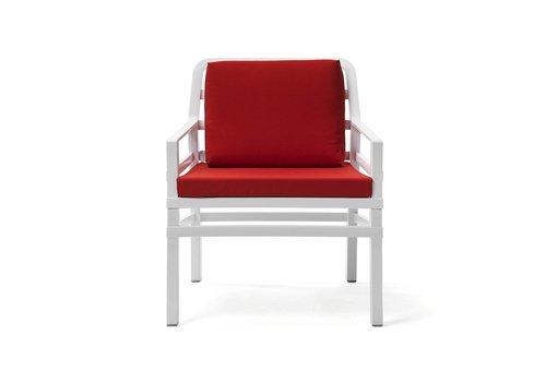 Lounge Tuinstoel - Aria - Bianco - Cherry - Rood - Nardi