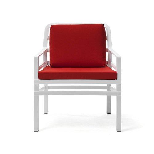 Nardi Lounge Tuinstoel - Aria - Bianco - Cherry - Rood - Nardi