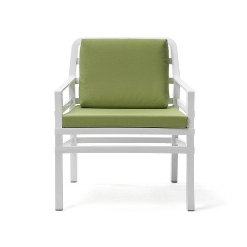 Nardi Lounge Tuinstoel - Aria - Bianco - Lime - Groen - Nardi