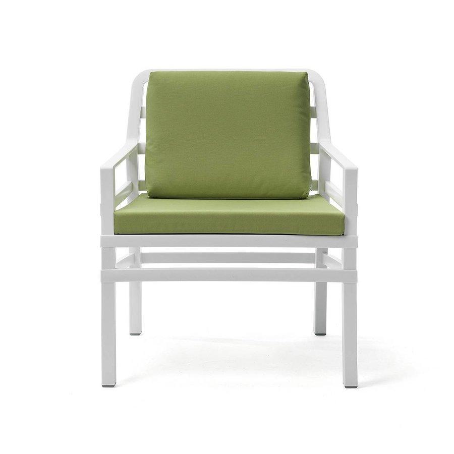 Lounge Tuinstoel - Aria - Bianco - Lime - Groen - Nardi-2