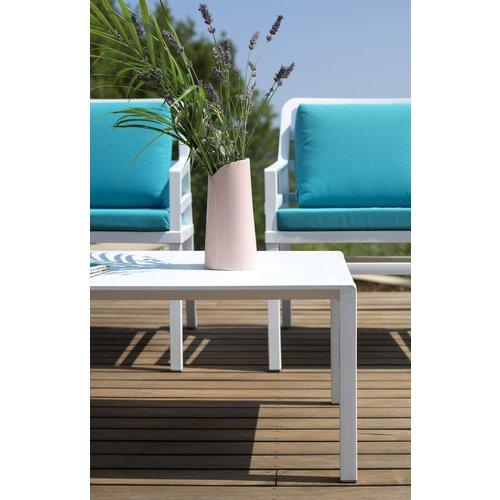 Nardi Lounge Tuintafel - Aria - Bianco - Wit - 100 - Nardi