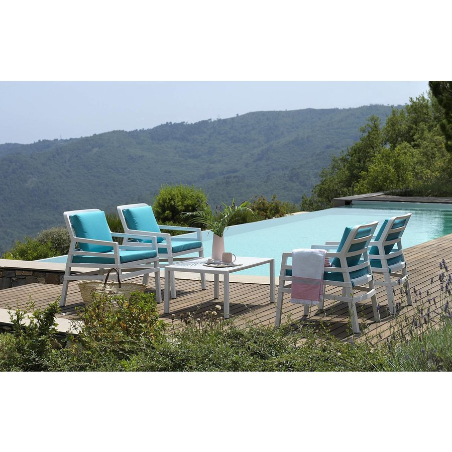 Lounge Tuintafel - Aria - Bianco - Wit - 100 - Nardi-4