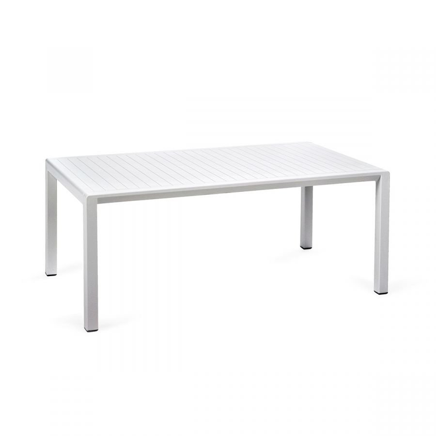 Lounge Tuintafel - Aria - Bianco - Wit - 100 - Nardi-1