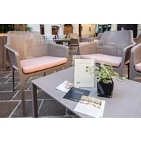 thumb-Lounge Tuintafel - Aria - Bianco - Wit - 60 - Nardi-4