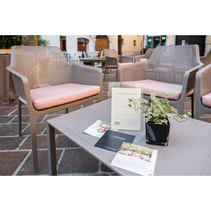 Lounge Tuintafel - Aria - Tortora - Taupe - 60 - Nardi-4
