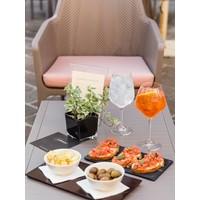 thumb-Lounge Tuintafel - Aria - Tortora - Taupe - 60 - Nardi-6