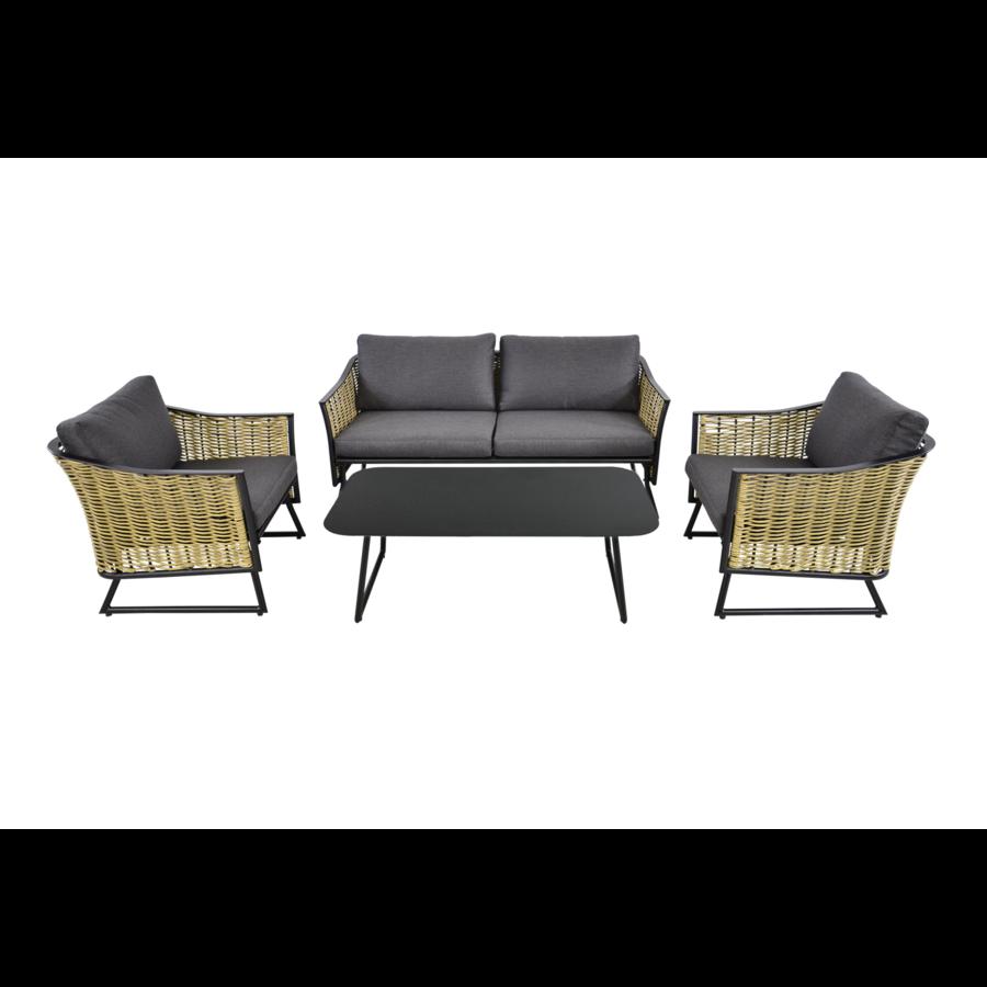 Lounge Tuinstoel - Solamente - Wicker - Lesli Living-7