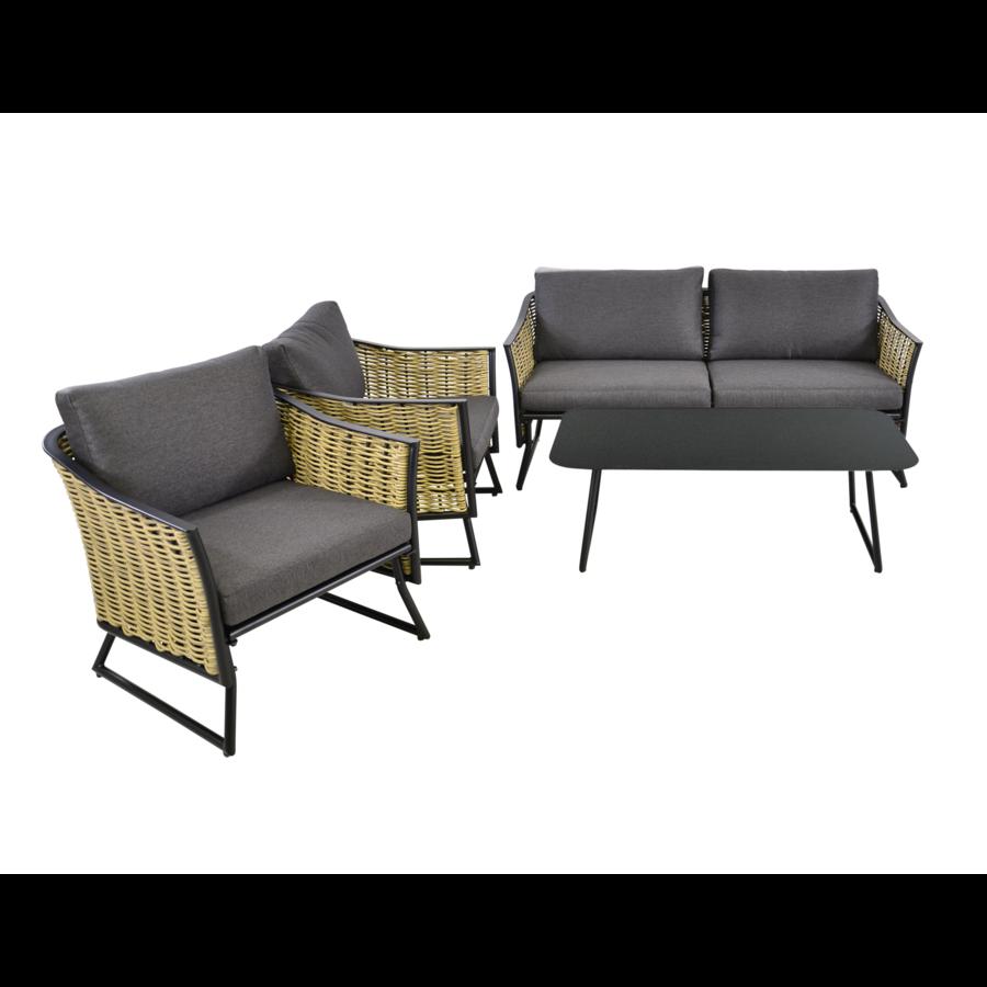Lounge Tuinstoel - Solamente - Wicker - Lesli Living-8