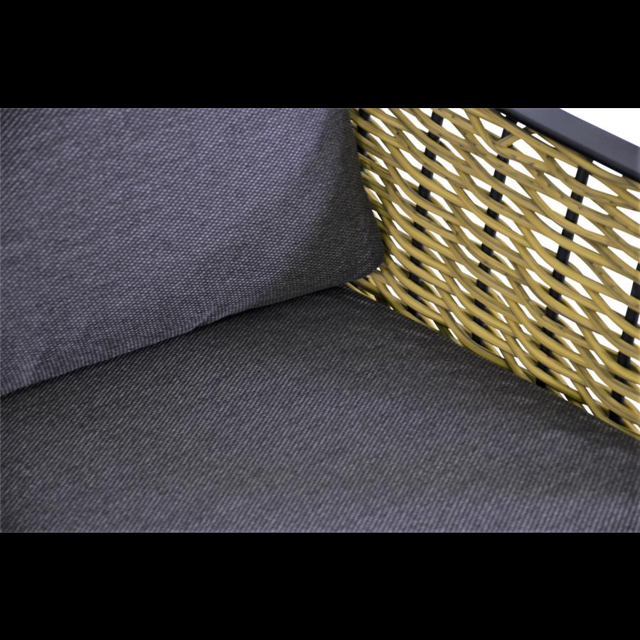 Lounge Tuinstoel - Solamente - Wicker - Lesli Living-4