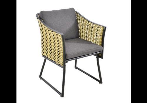 Lounge Tuinstoel - Solamente - Wicker - Lesli Living