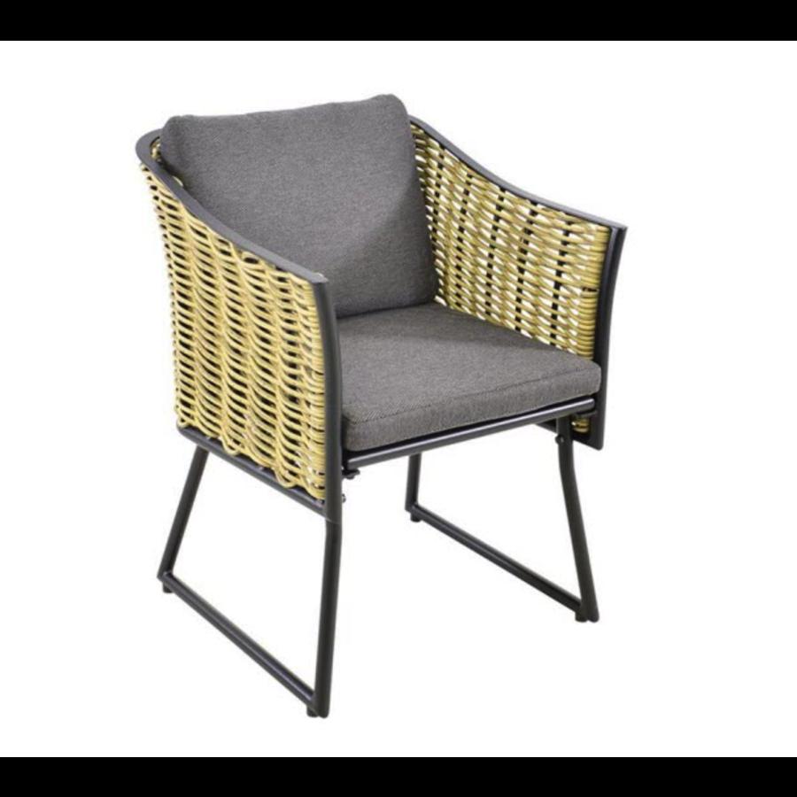 Lounge Tuinstoel - Solamente - Wicker - Lesli Living-1