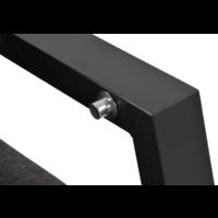 thumb-Lounge Tuinbank – Ohio – 3-Zits - Antraciet - Aluminium – Lesli Living-4