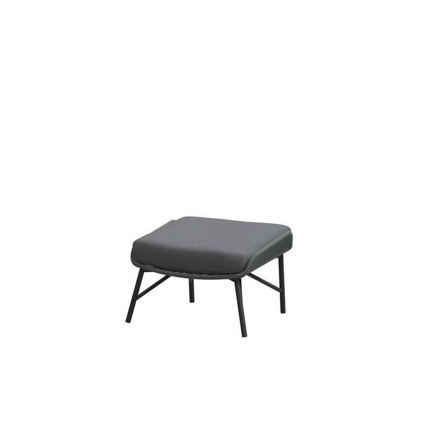 Lounge Tuinstoel - Carthago - Platinum - Rope/RVS - 4 Seasons Outdoor-3