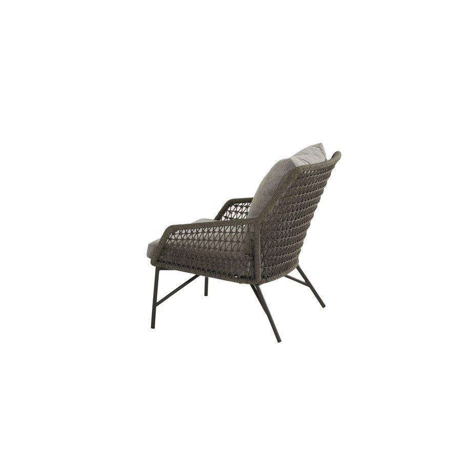 Lounge Tuinstoel - Babilonia - Taupe - Rope - 4 Seasons Outdoor-4