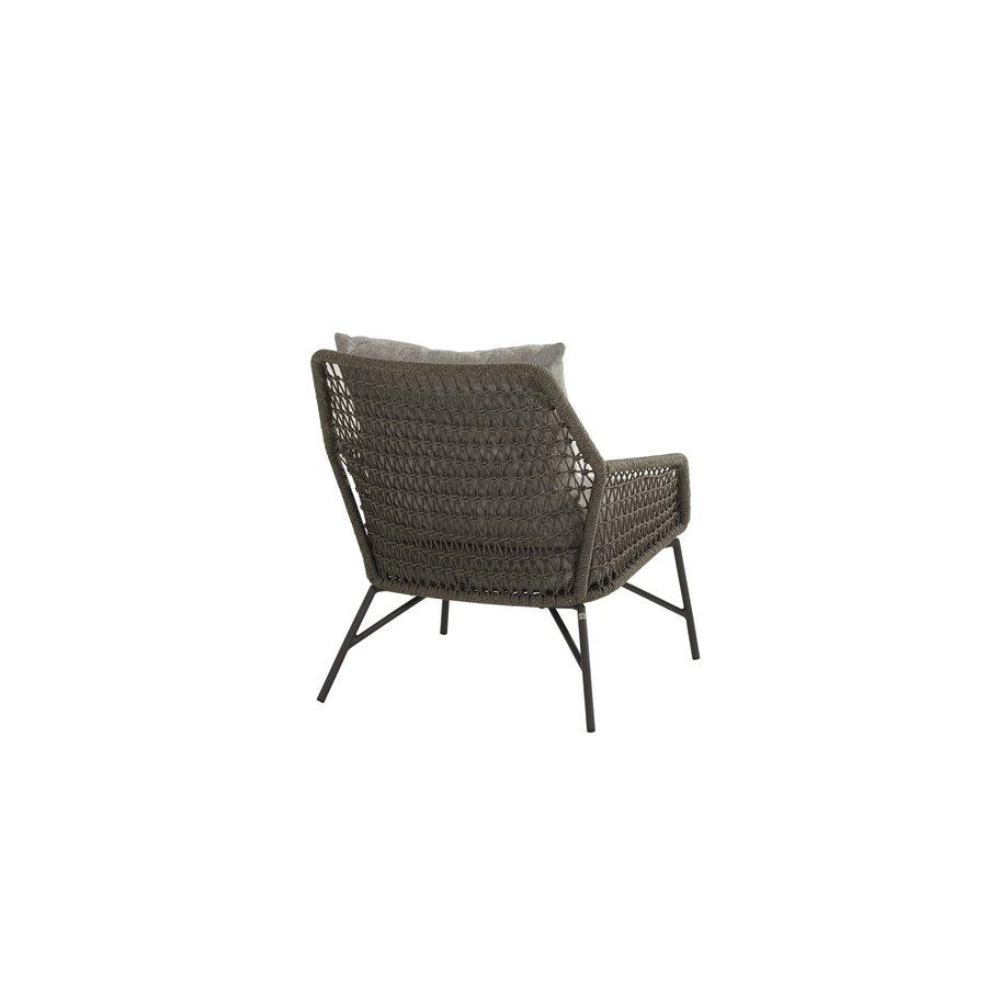 Lounge Tuinstoel - Babilonia - Taupe - Rope - 4 Seasons Outdoor-5