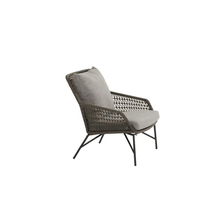 Lounge Tuinstoel - Babilonia - Taupe - Rope - 4 Seasons Outdoor-6