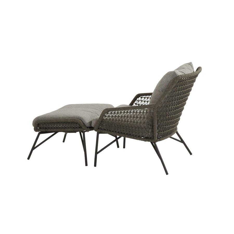 Lounge Tuinstoel - Babilonia - Taupe - Rope - 4 Seasons Outdoor-7