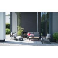 thumb-Lounge Tuinbank - Capitol - Grijs - Aluminium - 4 Seasons Outdoor-5