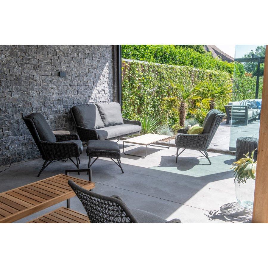 Lounge Tuinbank - Wing - Antraciet - Rope - 4 Seasons Outdoor-4