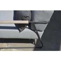 thumb-Stoel-Bank Loungeset  - Coast - Lichtgrijs - RVS/Teak - 4 Seasons Outdoor-4