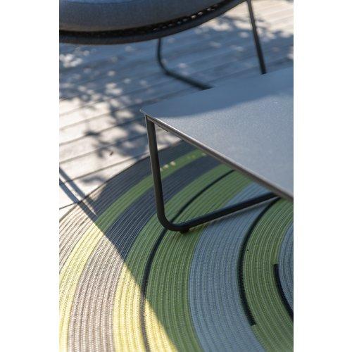 4 Seasons Outdoor Bijzettafel Tuin - Dali - Antraciet - Aluminium / RVS - 4 Seasons Outdoor