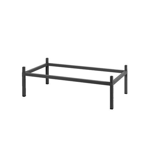 Nardi Kit Tuintafel - CUBE - 140x80 cm - Antraciet - Nardi