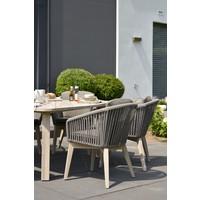 thumb-Dining Tuinstoel - Santander - Grijs - Rope - 4 Seasons Outdoor-9