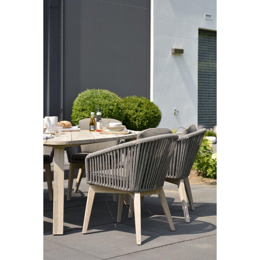 Dining Tuinstoel - Santander - Grijs - Rope - 4 Seasons Outdoor-9