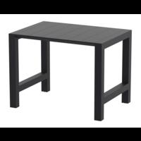 thumb-Bartafel - Vegas - Zwart - Uitschuifbaar 100/140 cm - Siesta-1