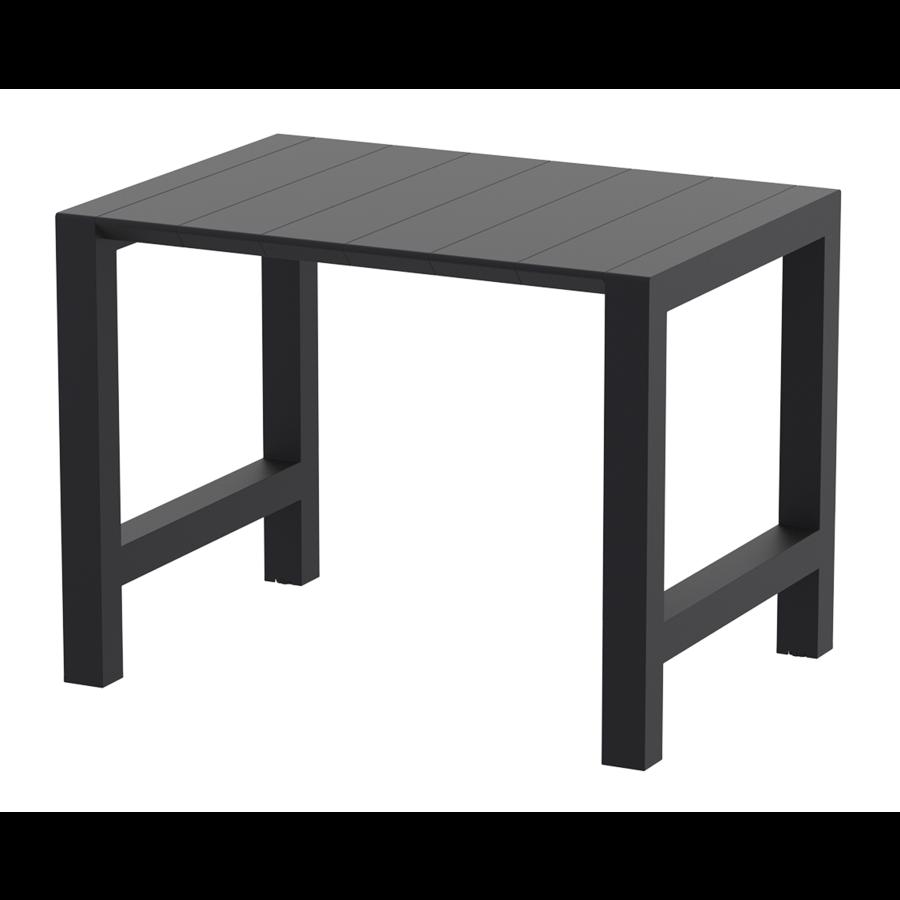 Bartafel - Vegas - Zwart - Uitschuifbaar 100/140 cm - Siesta-1