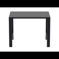 thumb-Bartafel - Vegas - Zwart - Uitschuifbaar 100/140 cm - Siesta-4