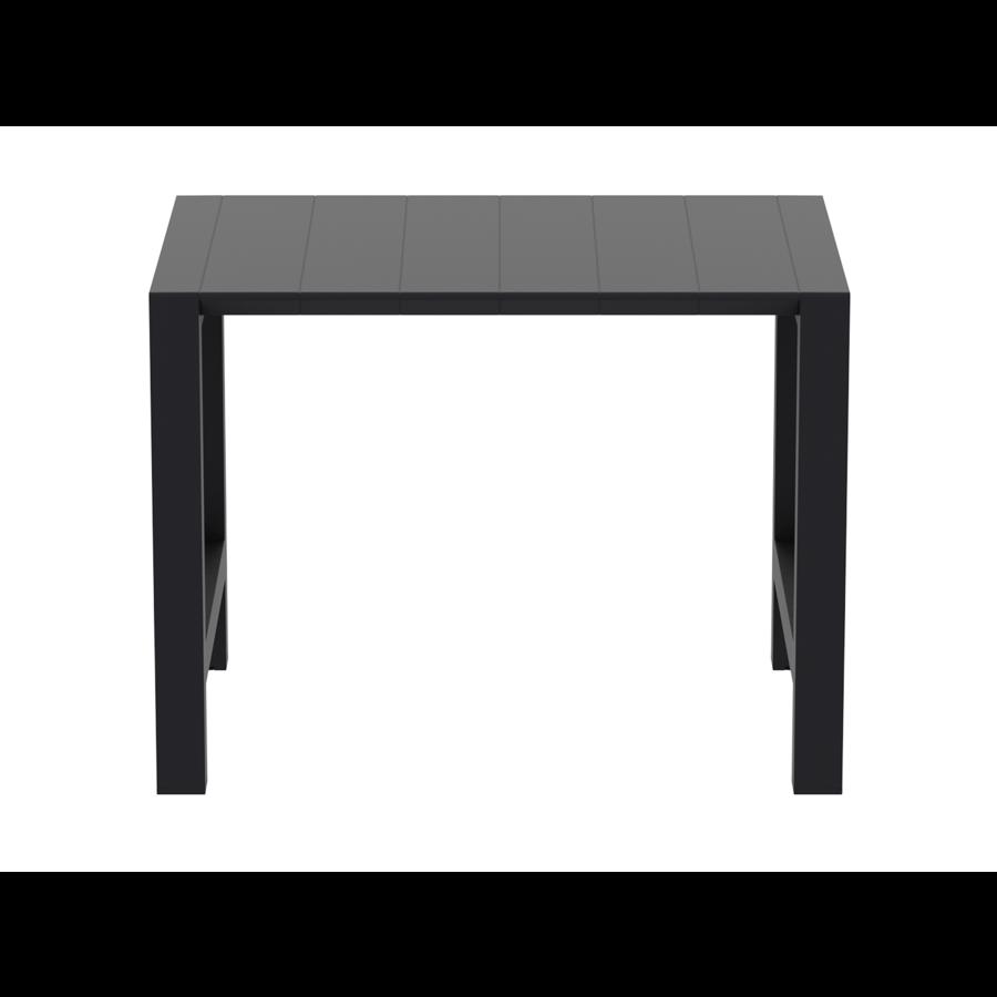 Bartafel - Vegas - Zwart - Uitschuifbaar 100/140 cm - Siesta-4