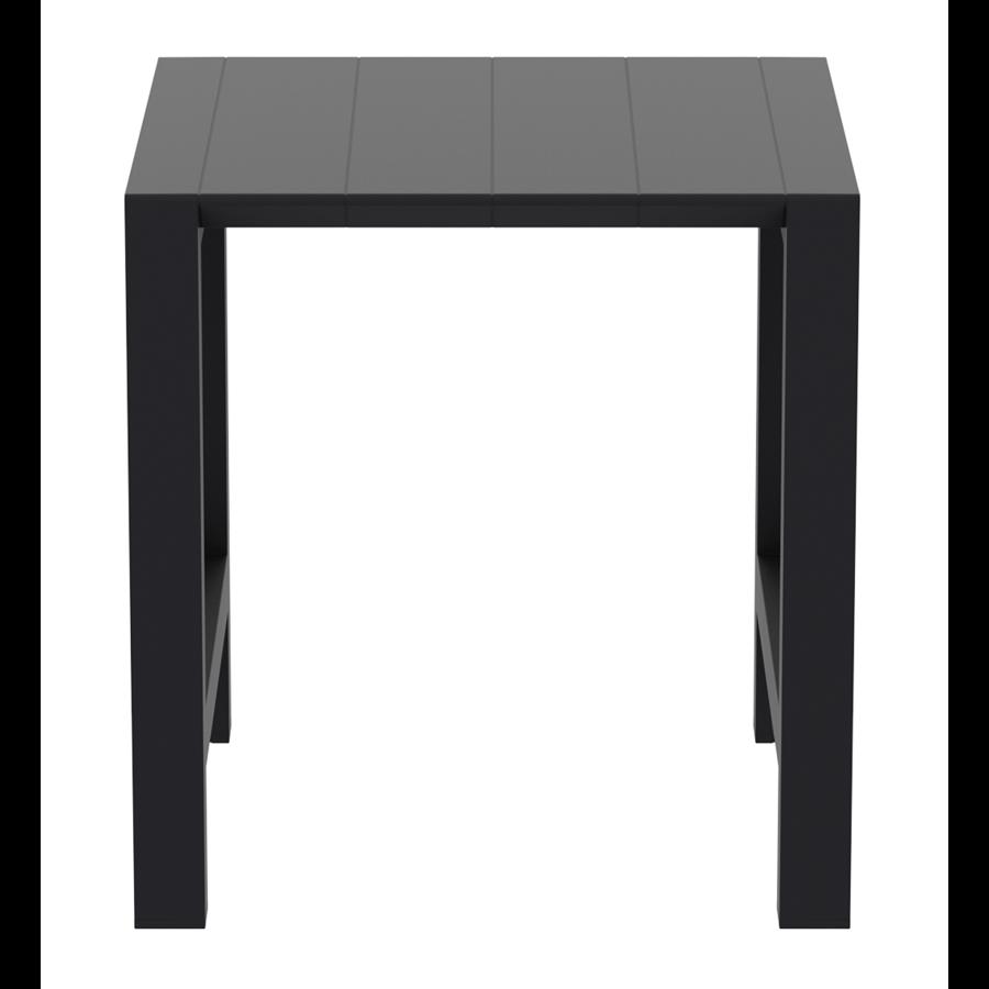 Bartafel - Vegas - Zwart - Uitschuifbaar 100/140 cm - Siesta-5