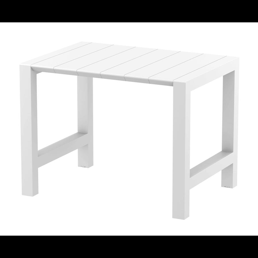 Bartafel - Vegas - Wit - Uitschuifbaar 100/140 cm - Siesta-1