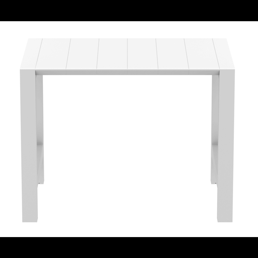 Bartafel - Vegas - Wit - Uitschuifbaar 100/140 cm - Siesta-5