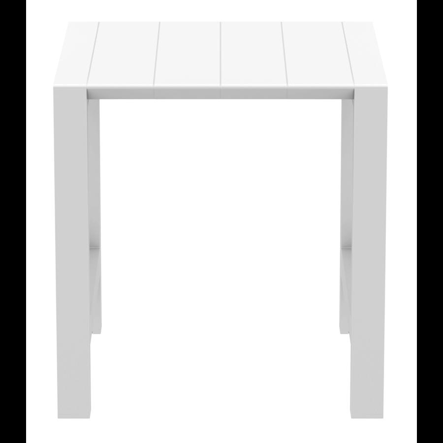 Bartafel - Vegas - Wit - Uitschuifbaar 100/140 cm - Siesta-6