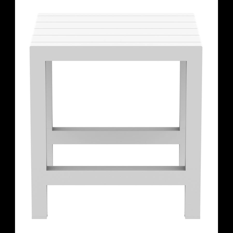 Bartafel - Vegas - Wit - Uitschuifbaar 100/140 cm - Siesta-7