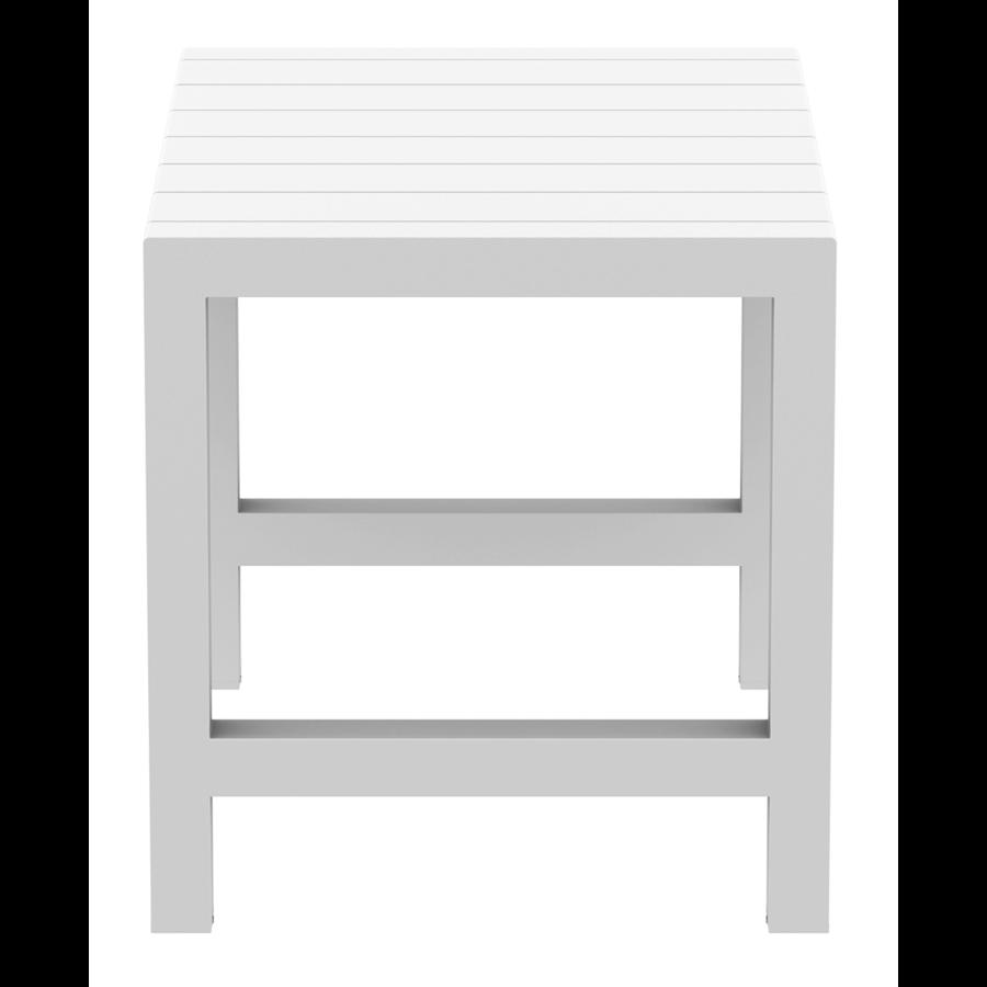 Bartafel - Vegas - Wit - Uitschuifbaar 100/140 cm - Siesta-8