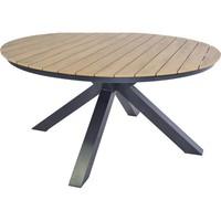 thumb-Tuintafel - Arezzo - Aluminium/Polywood - 160x90 cm - Lesli Living-9