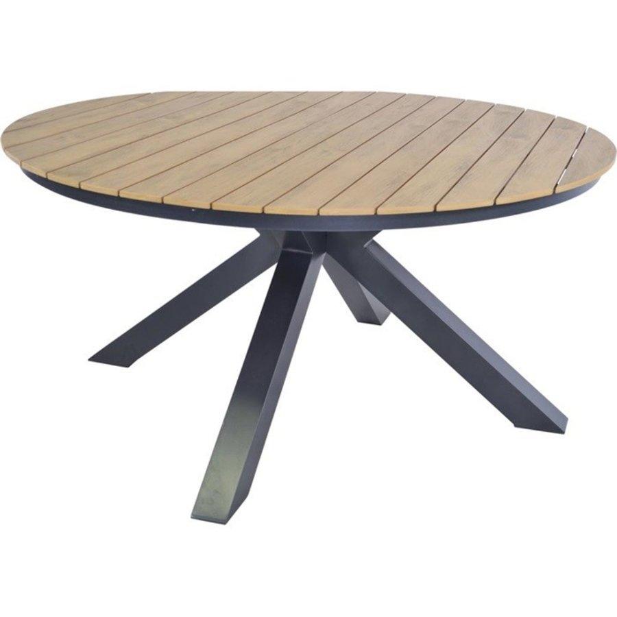 Tuintafel - Arezzo - Aluminium/Polywood - 160x90 cm - Lesli Living-9