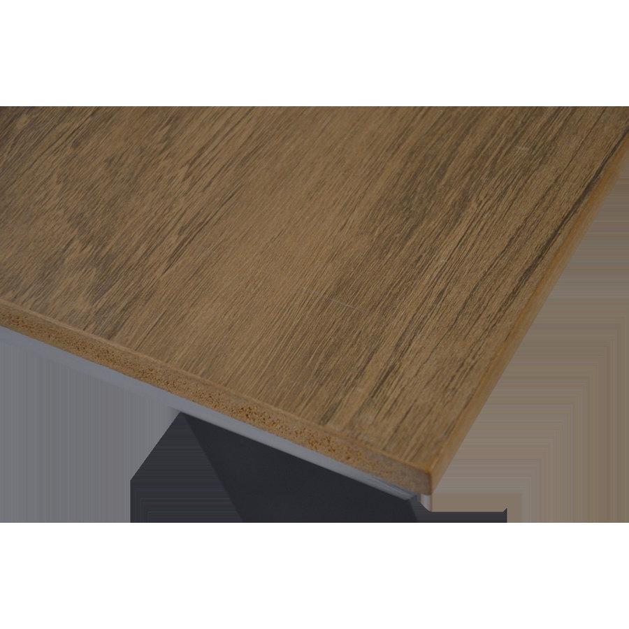 Tuintafel - Arezzo - Aluminium/Polywood - 90x90 cm - Lesli Living-8