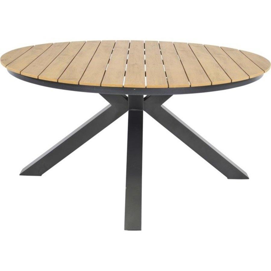 Tuintafel - Arezzo - Aluminium/Polywood - 90x90 cm - Lesli Living-3