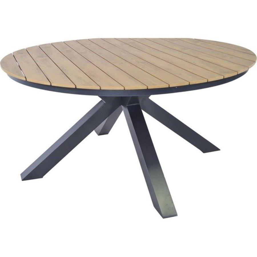 Tuintafel - Arezzo - Aluminium/Polywood - 90x90 cm - Lesli Living-4