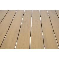 thumb-Tuintafel - Arezzo - Aluminium/Polywood - 90x90 cm - Lesli Living-7