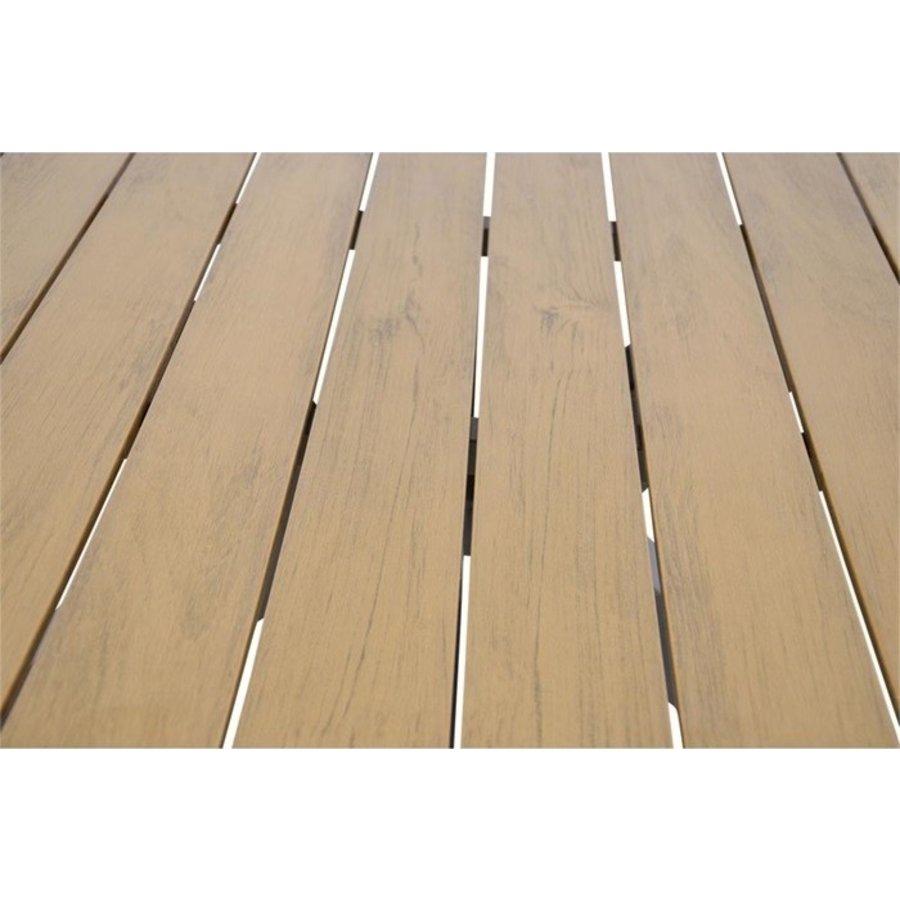 Tuintafel - Arezzo - Aluminium/Polywood - 90x90 cm - Lesli Living-7
