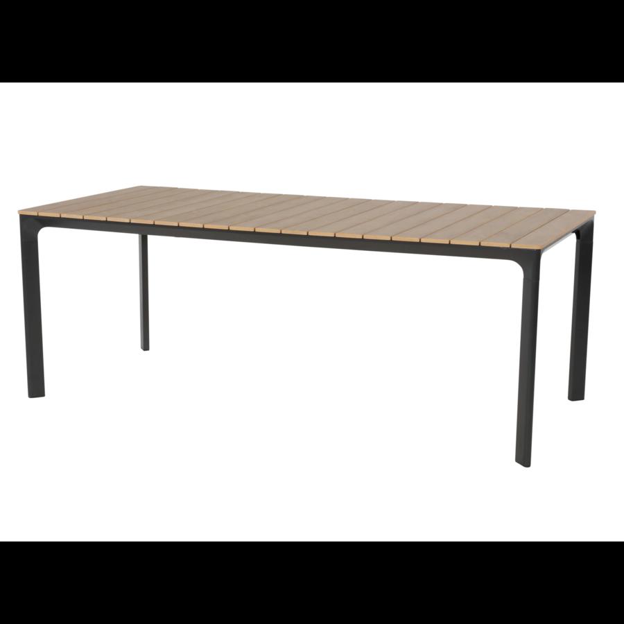 Tuintafel - Arezzo - Aluminium/Polywood - 200x90 cm - Lesli Living-1